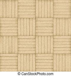 パターン, -, seamless, 木, 背景, 寄せ木張りの床