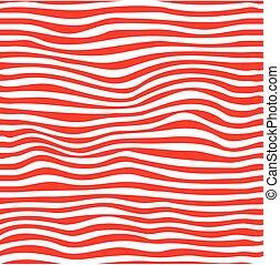 パターン, seamless, 波