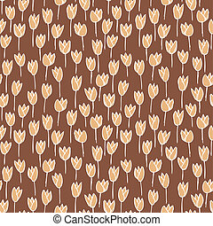 パターン, seamless, 花