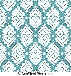 パターン, seamless, 装飾用, 抽象的