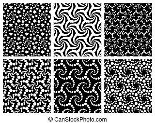 パターン, seamless, 雪片