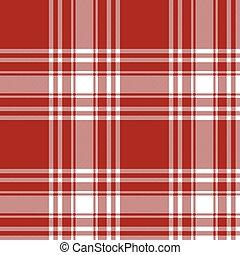 パターン, tartan, スカート, 手ざわり, 生地, seamless, キルト, menzies, 赤