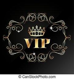 パターン, vip, 王冠