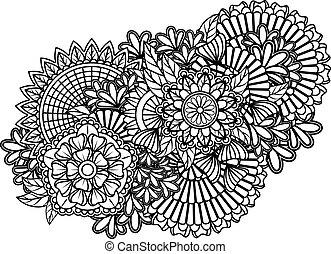 パターン, zentangle