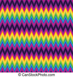 パターン, zig, 山形そで章, zag