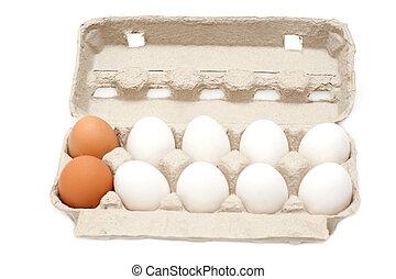 パッキング, 卵, グループ, 10