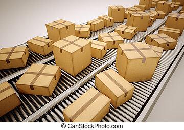 パッケージ, sorting.