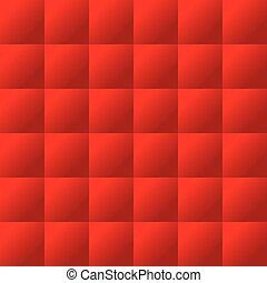 パッディング, パターン, seamless, 赤