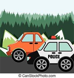 パトロール, 警察