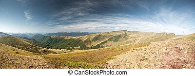 パノラマである, 山の景色