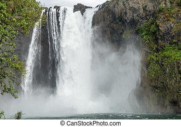 パノラマである, 滝, 風景, 6