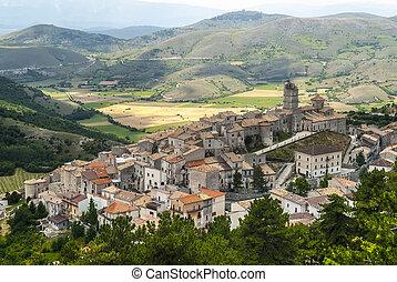 パノラマである, monte, del, castel, 光景