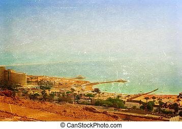 パノラマの光景, 上に, ∥, 死海