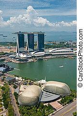 パノラマ, の, シンガポール