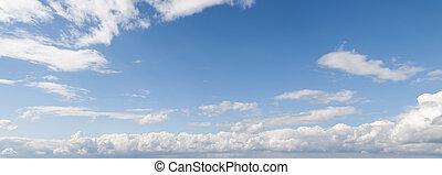 パノラマ, 空
