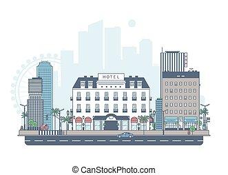 パノラマ, city.