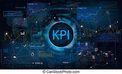 パフォーマンス, 表示器, (kpi), キー