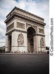 パリ, アーチ, 勝利, フランス