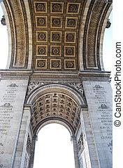 パリ, アーチ, triumphal