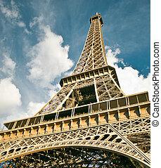 パリ, タワー, エッフェル, フランス