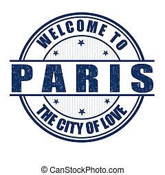 パリ, 切手, 歓迎