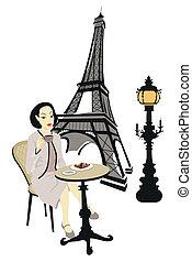 パリ, 女