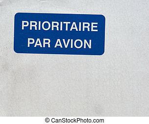 パリ, 対 avion, prioritaire