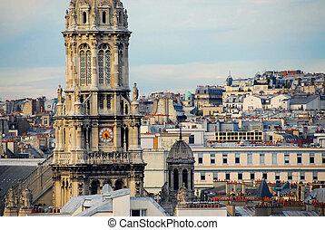 パリ, 屋根