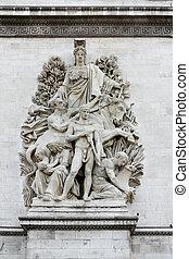 パリ, 彫刻, 勝利, アーチ
