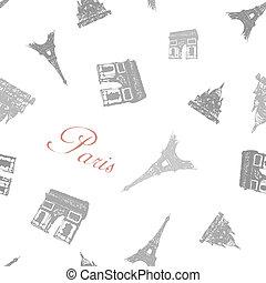 パリ, 手ざわり, seamless