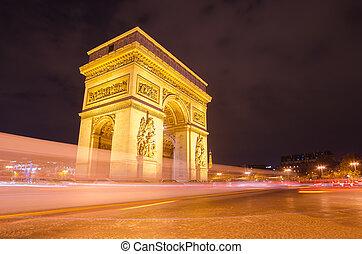 パリ, 星, アーチ, 勝利