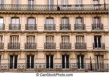 パリ, 窓
