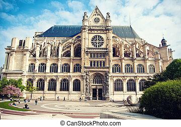 パリ, saint-eustache, 教会