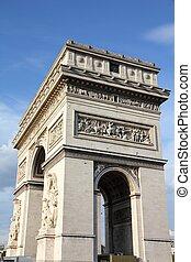パリ, triumphal アーチ