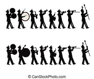 パレード, バンド