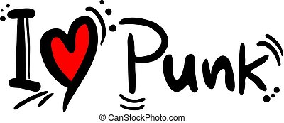 パンク音楽, 愛