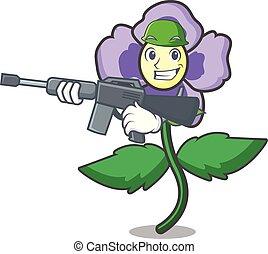 パンジー, 花, 特徴, 漫画, 軍隊