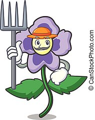 パンジー, 花, 特徴, 漫画, 農夫