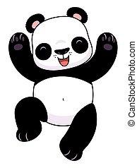 パンダ, 幸せ