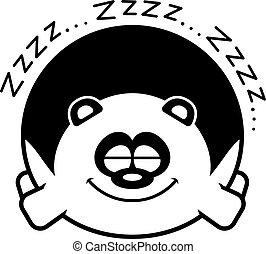 パンダ, 漫画, 睡眠