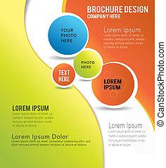 パンフレット, 内容, 背景, デザイン, イラスト