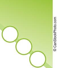 パンフレット, 緑