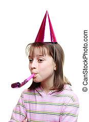 パーティー少女, 楽しむ, 若い