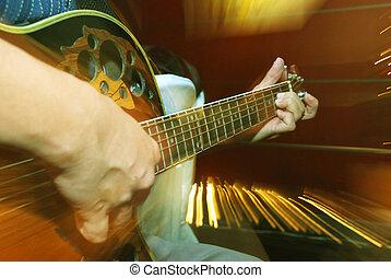 パーティー, ジャズ, guitarist, ボーカリスト, ジャム
