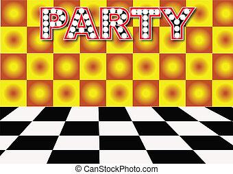 パーティー, ホール