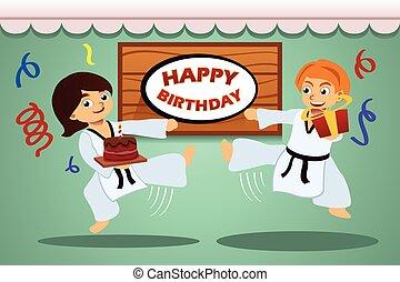 パーティー, 子供, birthday