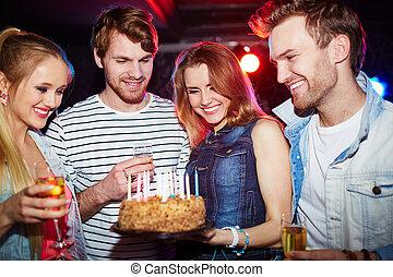 パーティー, birthday