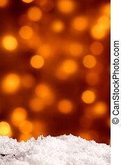 パーティー, bokeh, クリスマス, 背景, お祝い