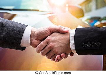パートナー, 動揺, 2, ビジネスの手