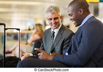 パートナー, 飛行, ビジネス, 2, ∥(彼・それ)ら∥, 待つこと